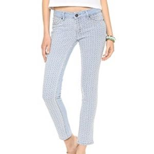 dl1961 angel mid rise Bliss skinny ankle